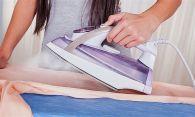 Как удалить след от утюга с одежды
