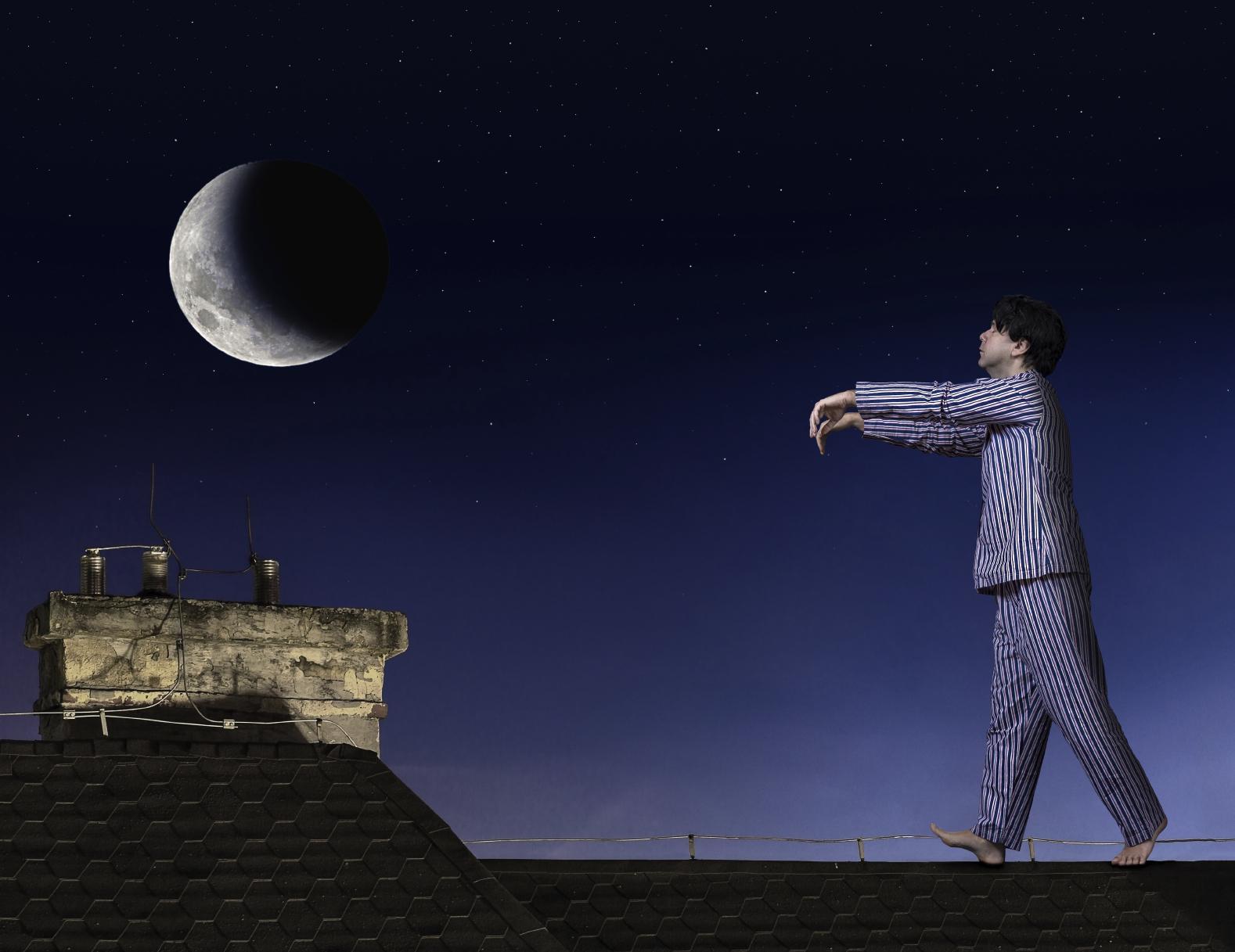 Заблуждение, что сомнамбул притягивает луна