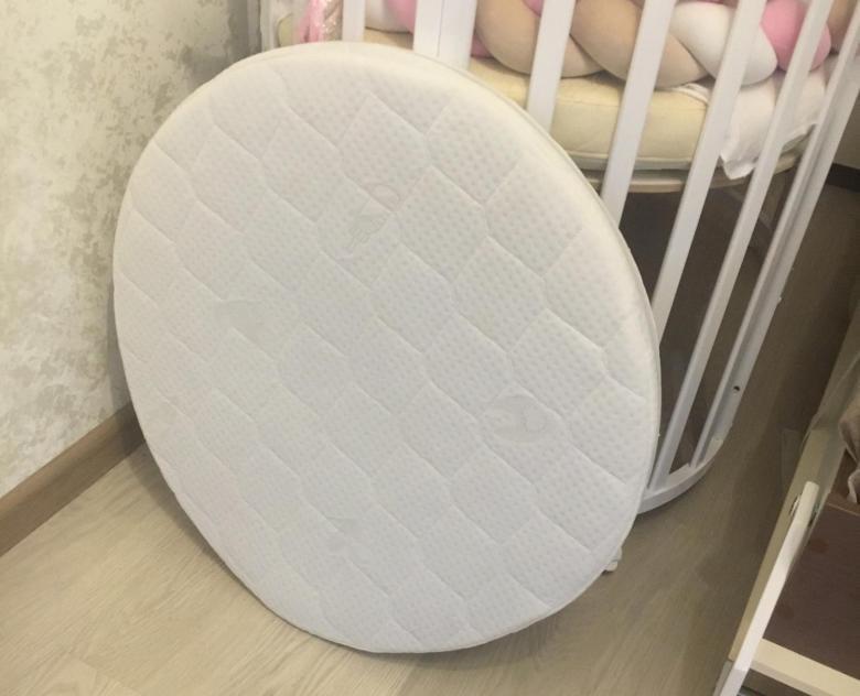 матрас для круглой кроватки
