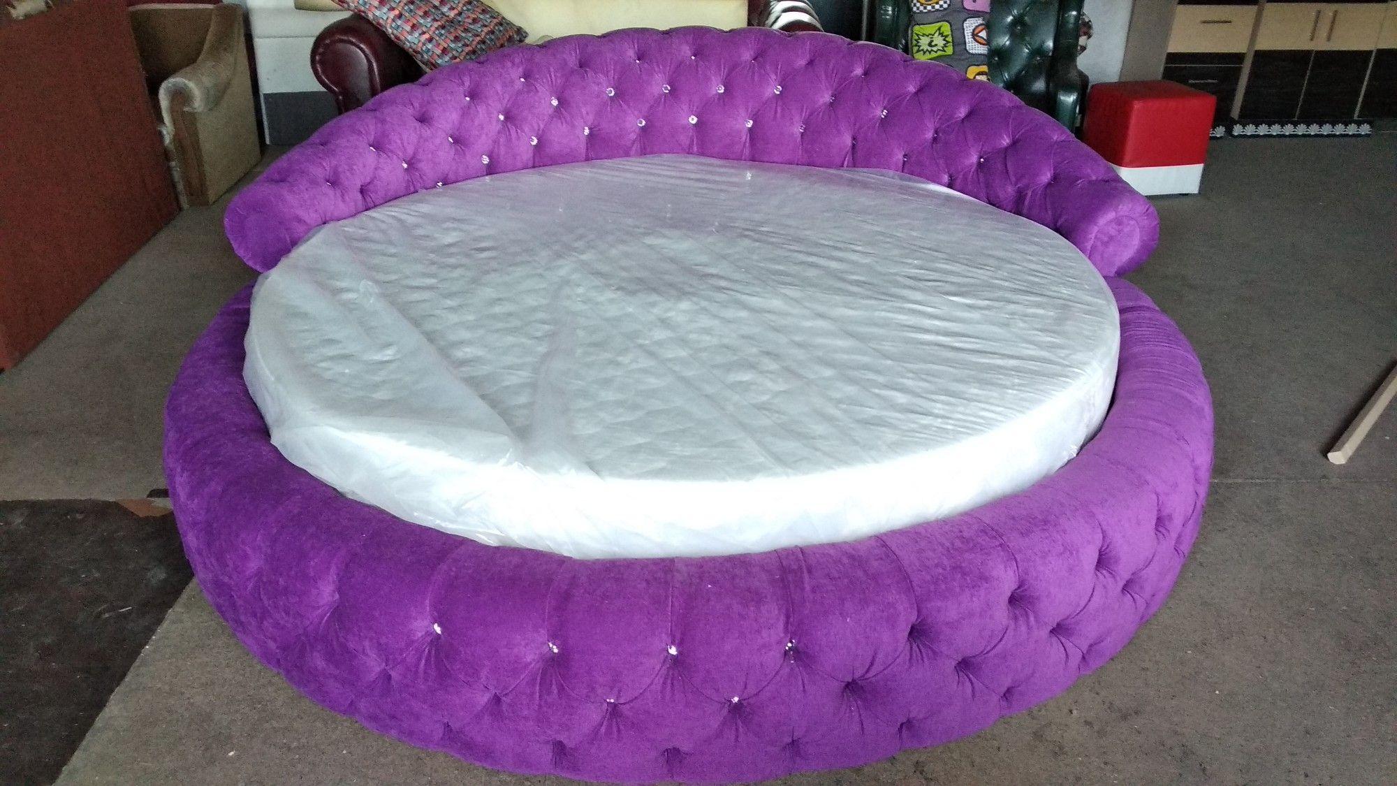 Матрас на круглую кровать