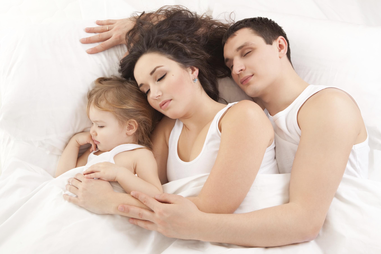 сон с родителями
