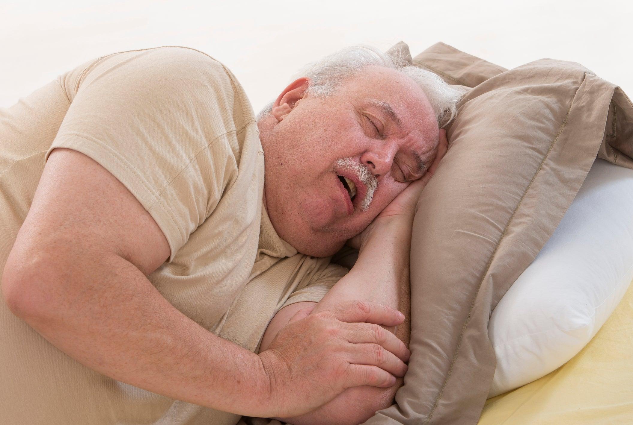 предрасположенность к ночным апноэ