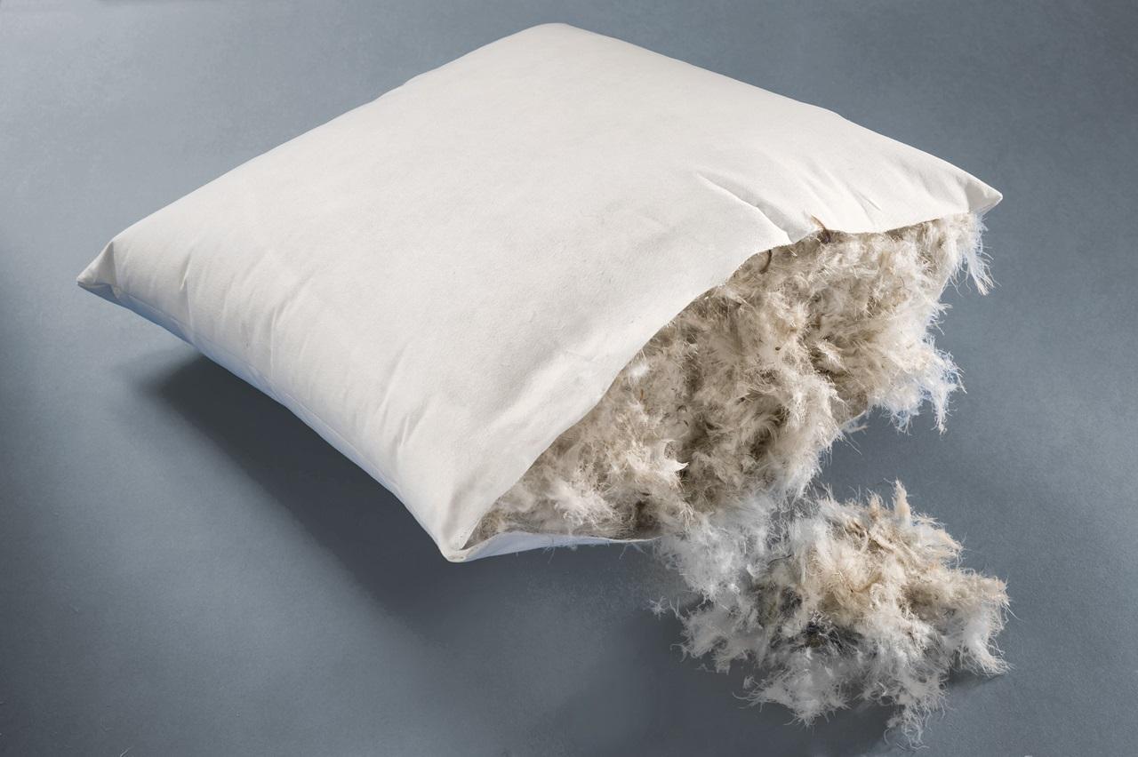 запах в перьевых подушках