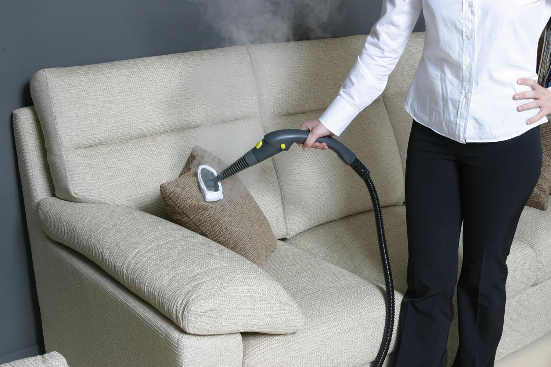 обработка диванных подушек