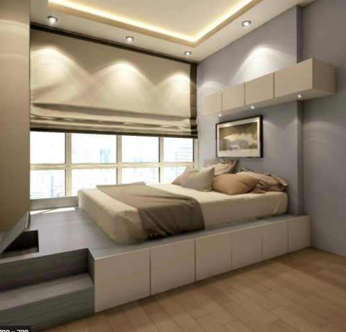 кровать -подиум